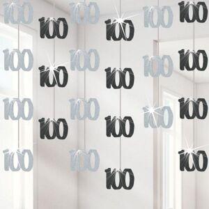 Party Hengende dekorasjon, 100th Birthday (332-DAZKHANG100)