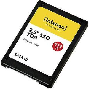 Intenso topp ytelse 2.5 (6,35 cm) interne SSD kjøre 512 GB Retail 3812450 SATA III