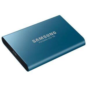 Samsung Portable SSD T5 500GB - Blå
