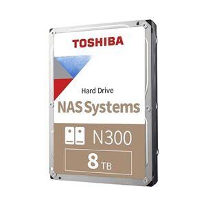 Toshiba N300 NAS 8TB 256MB HDWG180UZSVA