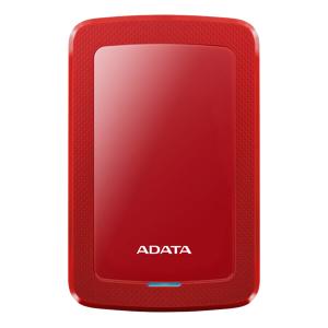 Adata AHV300-2TU31-CRD Adata  2TB External Hard drive, 10,3mm, USB 3.1, Quick start, red