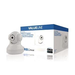 Valueline HD Pan-Tilt IP-Kamera Innendørs 720P Hvit, SVL-IPCAM10 innendørs panne