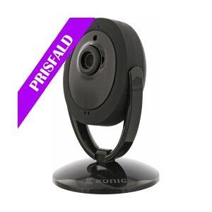 König HD IP-Kamera Innendørs 1280x720 Sort, SAS-IPCAM200B TILBUD NU