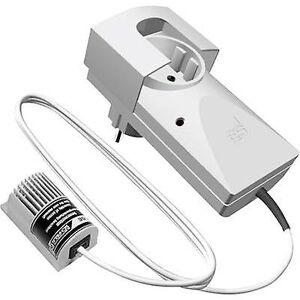 Schabus 300222 gass detektoren strømnettet-drevet oppdager propan, metan, butan, etanol