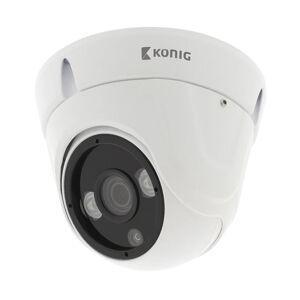 König HD Kuppel Overvåkningskamera IP66 Hvit