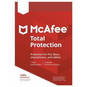 McAfee Total Protection Unlimited 2019 - 50 enheter