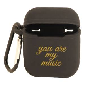 Hedlundgruppen AirPods Foderal You Are My Music - Sort