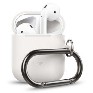 Apple Elago Beskyttelses Etui Til Airpod M/karabin - Hvid