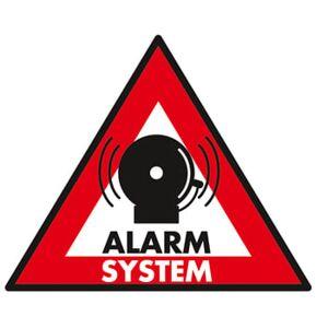 Alarm Klistermærker - 5 Stk