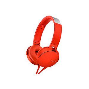 Sony Hovedtelefoner over-ear (Extra Bass) Rød - MDR-XB550AP