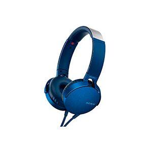 Sony Hovedtelefoner over-ear (Extra Bass) Blå - MDR-XB550AP