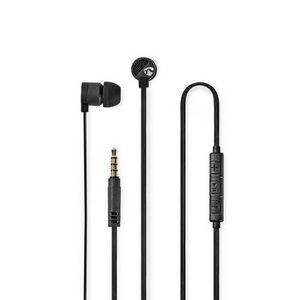 NEDIS, Kablede hovedtelefoner   1,20 m fladt kabel   In-Ear   Indbygget...