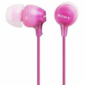SONY Sony Hodetelefoner in-ear MDR-EX15LP Rosa 4905524937244 Tilsvarer: N/A