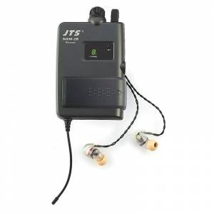 JTS SIEM-2R-IE-1 in-ear monitor mottaker Mottaker med ørepropper, 863-865Mhz