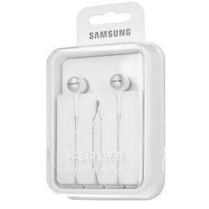 Samsung i øret hodetelefoner headset øretelefoner 3,5 mm IG935 hvit detaljhandel