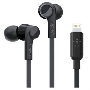 Belkin Rockstar MFI Lightning In-ear Hodetelefoner - Svart