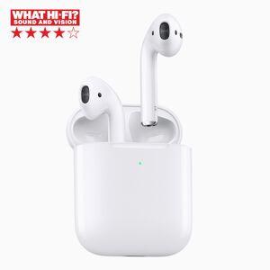 Apple Airpods 2 med trådløst ladeetui
