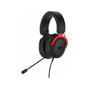 Asus TUF H3 - Gamingheadset - Rødt