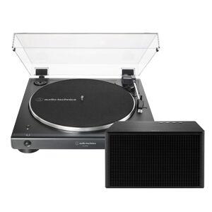 Technica Audio-Technica AT-LP60XBT Trådløs Platespiller med Geneva Acustica Lounge høyttaler - Sort
