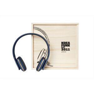 Kreafunk - aHEAD, Blå, Hörlurar, Bluetooth 4.0