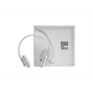 Kreafunk - aHEAD, White edition, Hörlurar, Bluetooth 4.0
