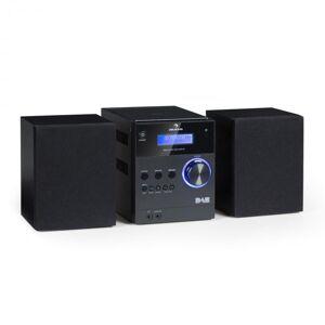 Auna MC-20 DAB stereolaitteisto DAB+ bluetooth kaukosäädin musta