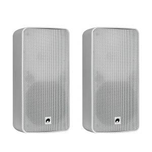 Omnitronic ODP-206T Installation Speaker 100V white 2x TILBUD NU