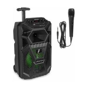 """FPC8T Portable Party Speaker Rechargeable 8"""" with Trolley TILBUD NU"""