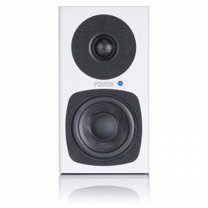 Fostex PM03 White Stereo System inkl. to høyttalere