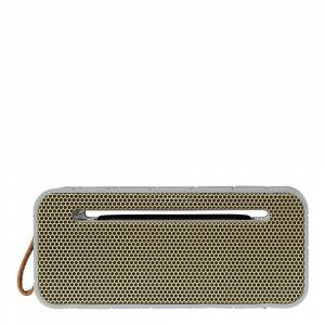 Kreafunk aMove Högtalare Bluetooth med Powerbank Cool Grey/Guld