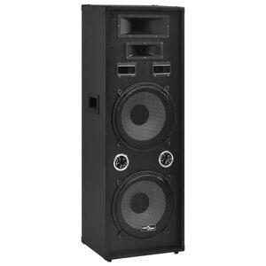 vidaXL Passiv PA-högtalare 1000 W svart