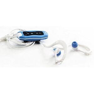 Ngs Blue Seaweed - Vandtæt Mp3-afspiller - 4gb Fm-radio - Blå