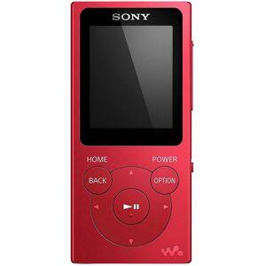 Sony NW-E394 Walkman MP3 Player with FM Radio, 8 GB Red