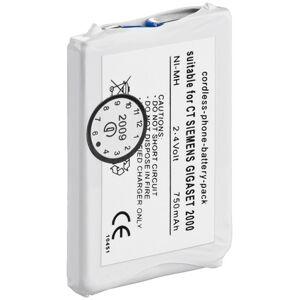 Batteribyen.dk Siemens (GIGASET 2000C POCKET/2000L/2010 Pocket/2011 POCKET) og Telekom (SINU...
