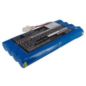 Batteri til Fukuda Cardimax FX-7100, FX-7102 9.6V 4000mAh