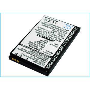 Creative Zen Micro 4GB Batteri till MP3 och TV Spel 780 mAh