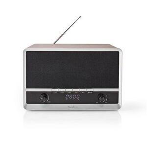 """Nedis, FM/AM-radio, Digital, 12 W, Skærm: 1.6 """", Bluetooth®, ur,..."""
