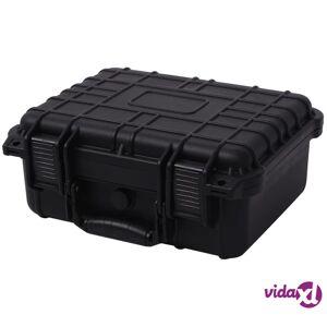 vidaXL Suojaava Varustelaatikko 35x29,5x15 cm Musta