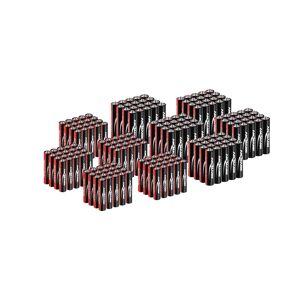 Ansmann AA- ja AAA-paristo - 200 kpl yhdistelmäpakkaus - 100 x Mikro AAA LR03 + 100 x Mignon AA LR6