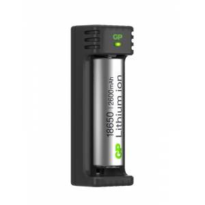 GP Li-ion 18650 1-slot USB Charger