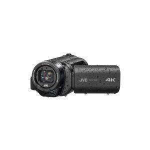 JVC Everio R GZ-RY980HEU - Videokamera - 4K / 30 fps - 18.9 MP - 10x optisk zoom - flashkort - undervands op til 5 m - sort