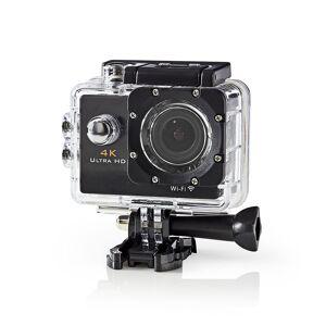 Nedis Actionkamera, Ultra HD, 4K, Wifi, Vattentätt fodral