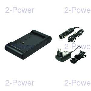 2-Power Videokamera Batteriladdare (PV-A19)