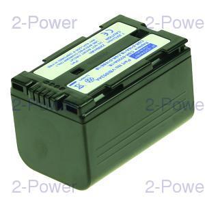 2-Power Videokamera Batteri Panasonic 7.2v 2200mAh (CGP-D16A/1B)