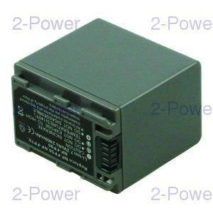 2-Power Videokamera Batteri Sony 7.2v 2460mAh (NP-FP90)