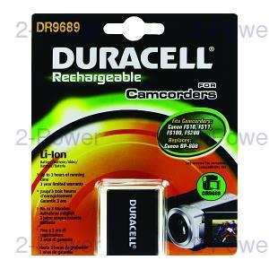 Duracell Videokamera Batteri Canon 7.4v 850mAh (BP-808)
