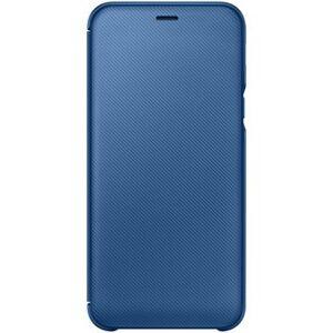 Samsung Galaxy A6 Wallet Cover - Blå