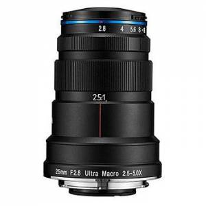 Laowa 25/2,8 2,5-5x Ultra Macro för Nikon F (fullformat)