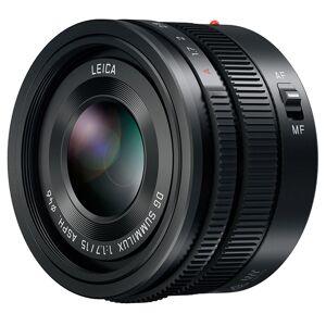 Panasonic Leica DG Summilux 15/1,7 ASPH. Svart