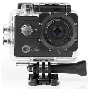 Nedis Action kamera Real 4K Ultra HD - Wi-Fi - Vandtæt Etui